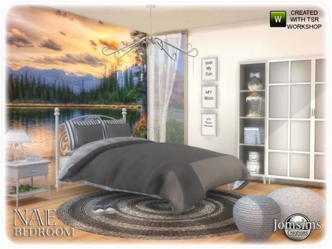 Nae bedroom by  jomsims at TSR image 819 670x503 Sims 4 Updates