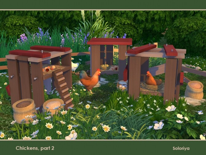 Chickens Part 2 by soloriya at TSR image 821 670x503 Sims 4 Updates
