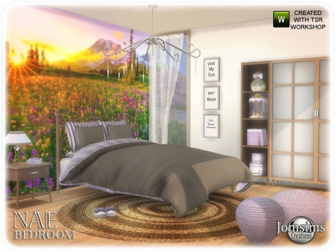 Nae bedroom by  jomsims at TSR image 825 670x503 Sims 4 Updates