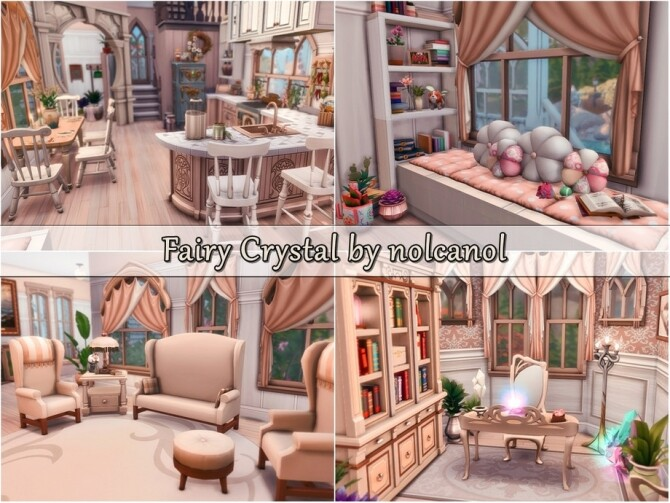 Fairy Crystal Castle by nolcanol at TSR image 827 670x503 Sims 4 Updates
