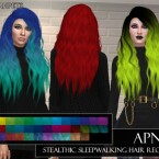 Apnea Stealthic Hairstyle Recolor by neinahpets