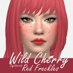 Wild Cherry Freckles by Sagittariah