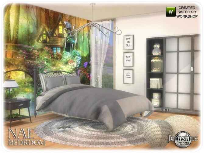 Nae bedroom by  jomsims at TSR image 835 670x503 Sims 4 Updates
