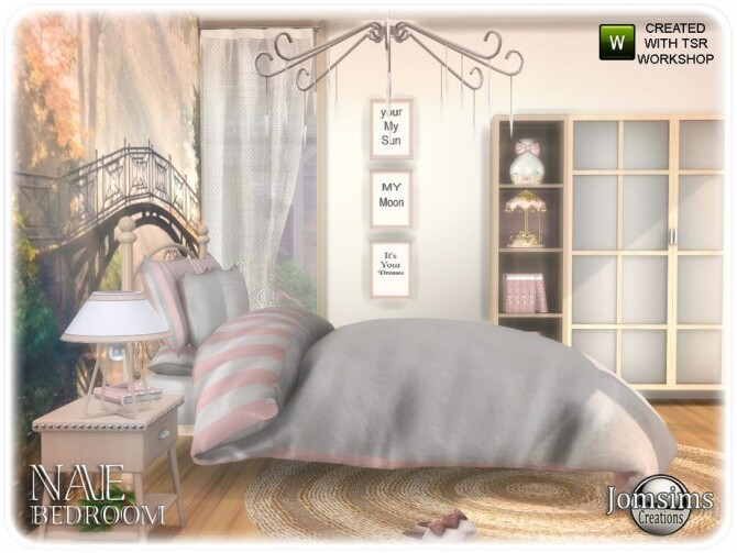 Nae bedroom by  jomsims at TSR image 844 670x503 Sims 4 Updates