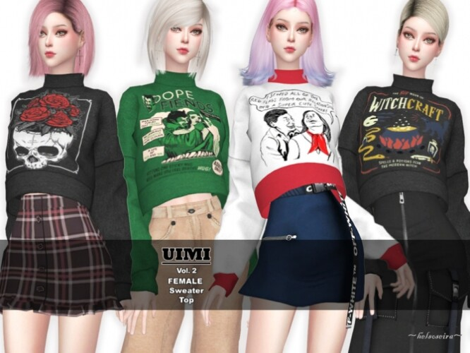 UIMI Vol2 Sweater by Helsoseira