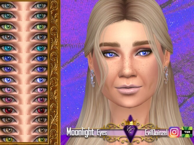 Sims 4 Moonlight Eyes by EvilQuinzel at TSR