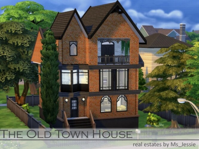 The Old Town House by Ms_Jessie