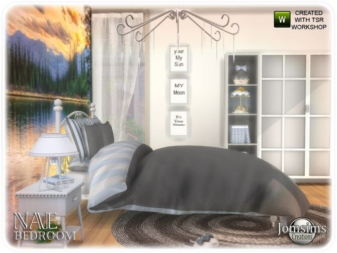 Nae bedroom by  jomsims at TSR image 855 670x503 Sims 4 Updates