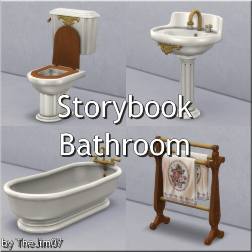 Storybook Bathroom by TheJim07