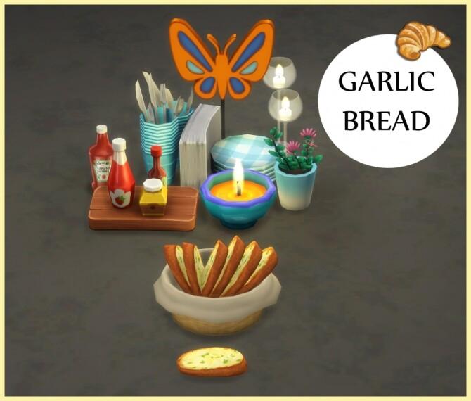 Sims 4 PLAIN GARLIC BREAD at Icemunmun