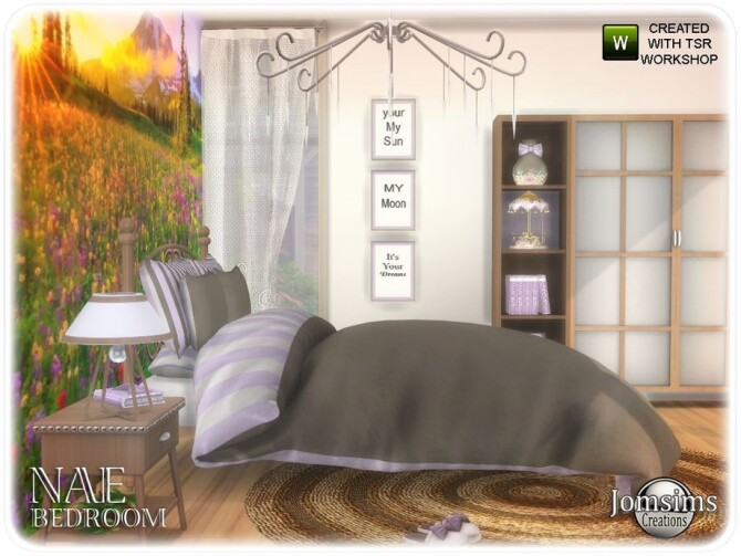 Nae bedroom by  jomsims at TSR image 864 670x503 Sims 4 Updates