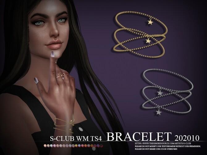 Sims 4 Bracelet 202010 by S Club WM at TSR