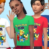 Pokemon T-Shirt by Pelineldis