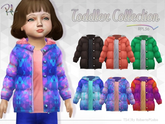 TODDLER Jacket Collection RPL56 by RobertaPLobo at TSR image 880 670x503 Sims 4 Updates