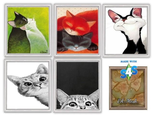 Cat posters by Oldbox