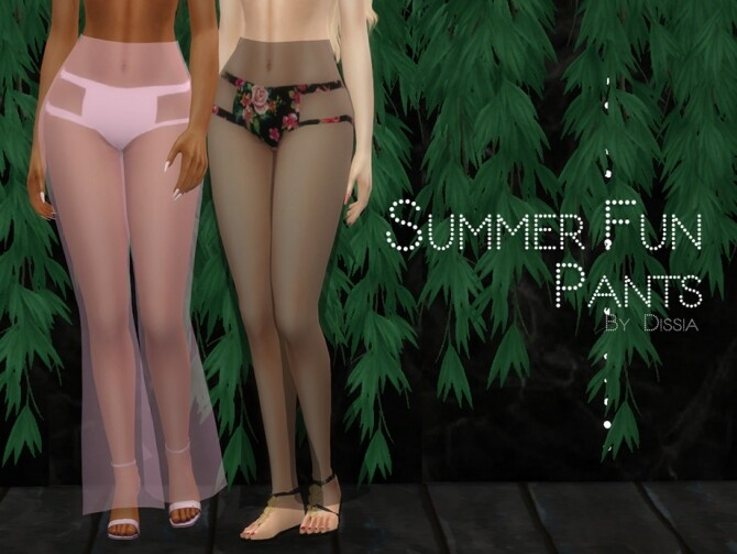 Summer Fun Pants by Dissia at TSR image 888 670x503 Sims 4 Updates