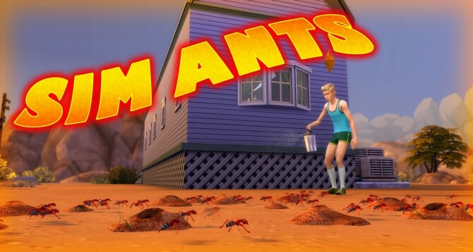 Sim Ants by flerb at Mod The Sims image 891 670x358 Sims 4 Updates
