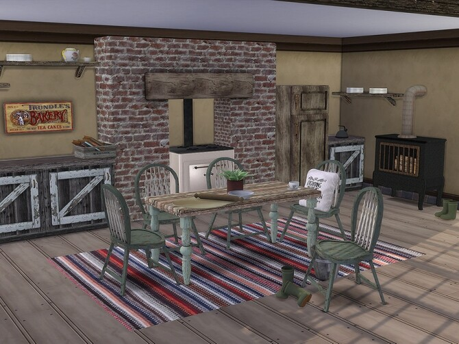 Country Cottage Kitchen by TheNumbersWoman