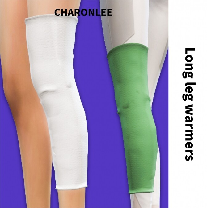 Long leg warmers at Charonlee image 9011 670x671 Sims 4 Updates