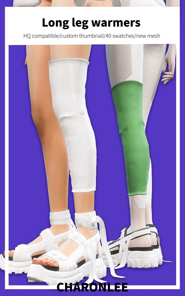 Long leg warmers at Charonlee image 9114 626x1000 Sims 4 Updates