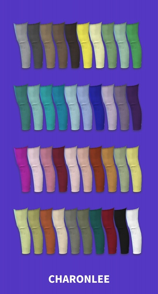 Long leg warmers at Charonlee image 9212 539x1000 Sims 4 Updates
