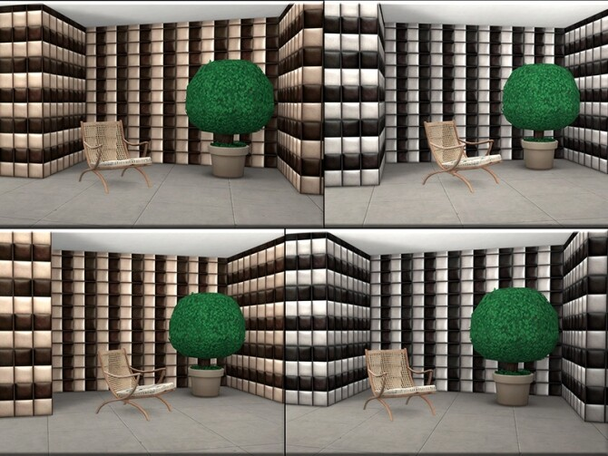 Sims 4 Solid Siding Blocks SET by matomibotaki at TSR