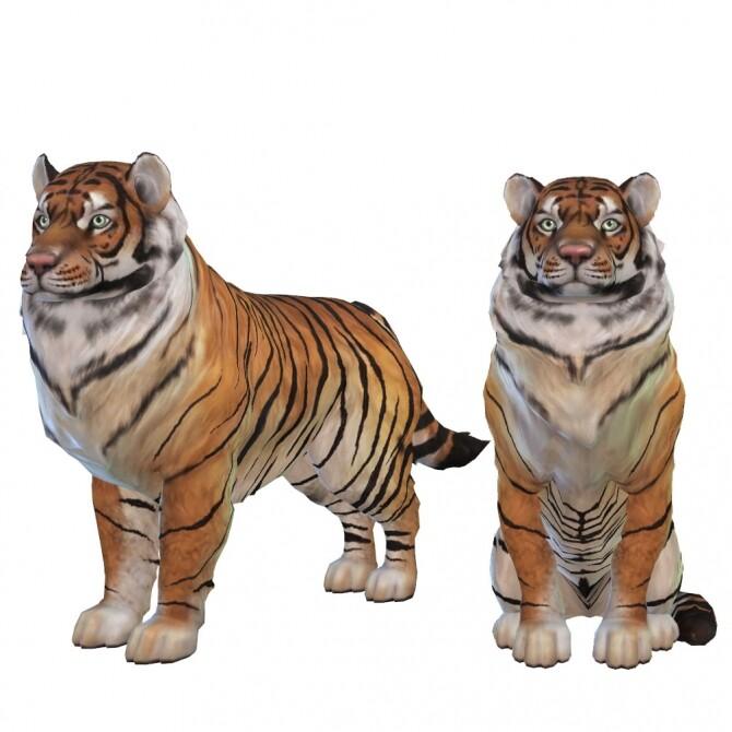 Tiger 2.0 at Kalino image 924 670x670 Sims 4 Updates