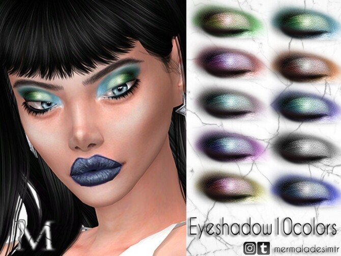 Sims 4 Eyeshadow MM10 by mermaladesimtr at TSR