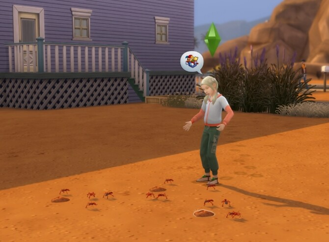 Sims 4 Sim Ants by flerb at Mod The Sims
