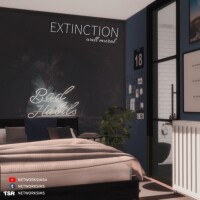 Extinction Wall Mural by Networksims