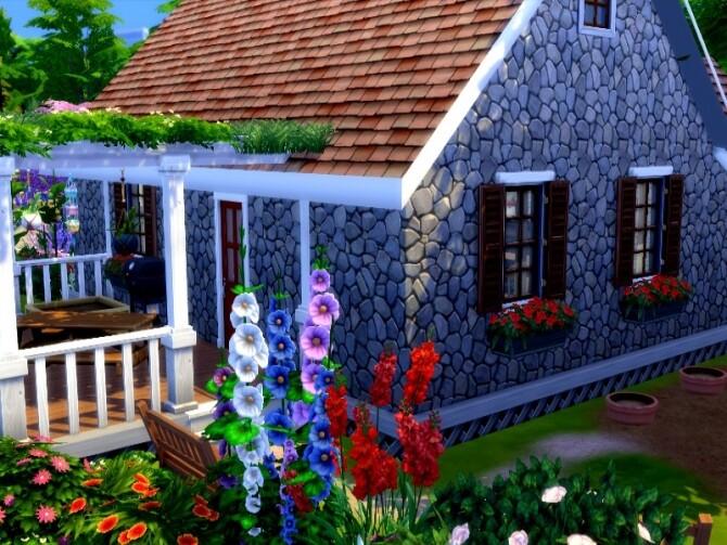 Sims 4 Gramma Cottage by GenkaiHaretsu at TSR
