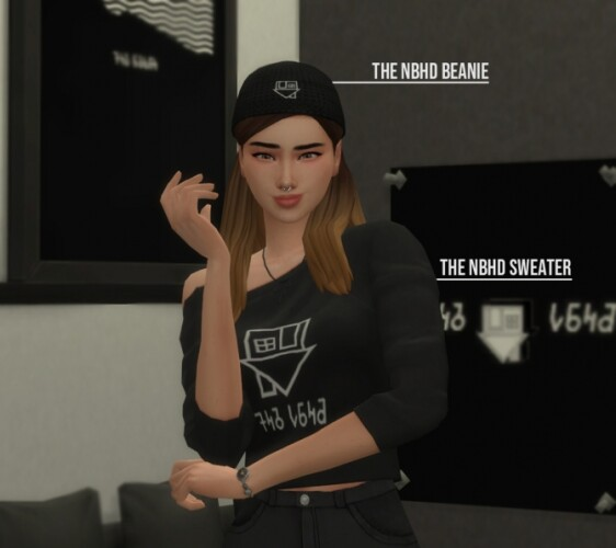 The Neighbourhood Sweater and Beanie by Fivextreme