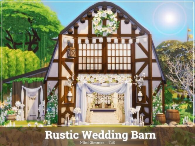 Rustic Wedding barn by Mini Simmer