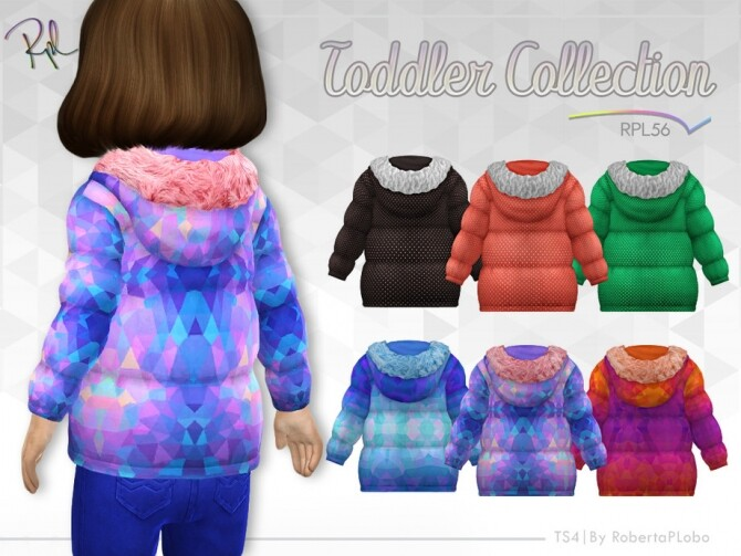 TODDLER Jacket Collection RPL56 by RobertaPLobo at TSR image 980 670x503 Sims 4 Updates