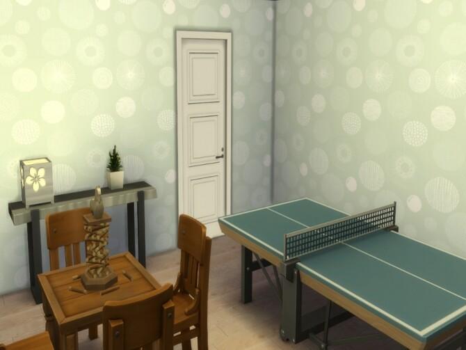 Sims 4 Inifinty Circles Wallpaper by lavilikesims at TSR