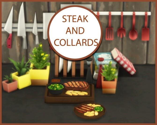 Sims 4 STEAK AND COLLARDS at Icemunmun