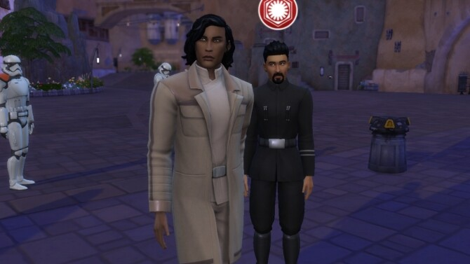 Sims 4 Kylo Ren (Adam Driver) at Tatyana Name
