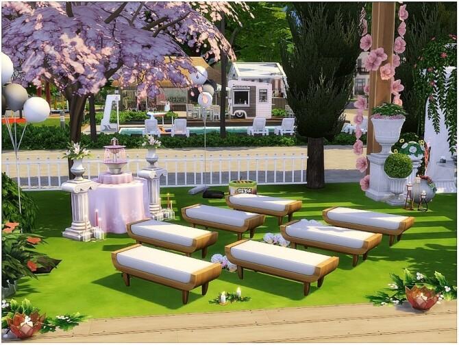 Cherry Wedding by lotsbymanal at TSR image 10101 670x503 Sims 4 Updates