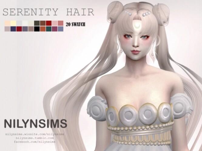 PRINCESS SERENITY HAIR