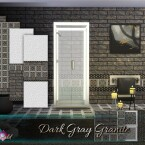 Dark Gray Granite by emerald