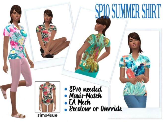 SP10 SUMMER SHIRT