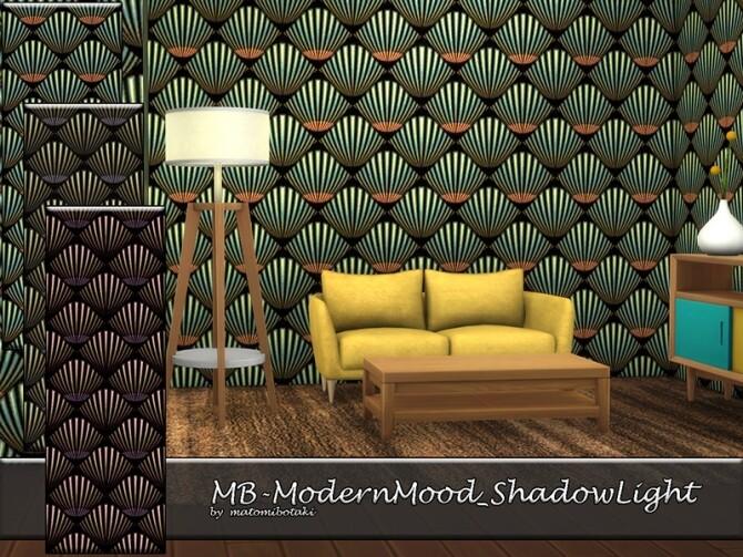 Sims 4 MB Modern Mood Shadow Light by matomibotaki at TSR