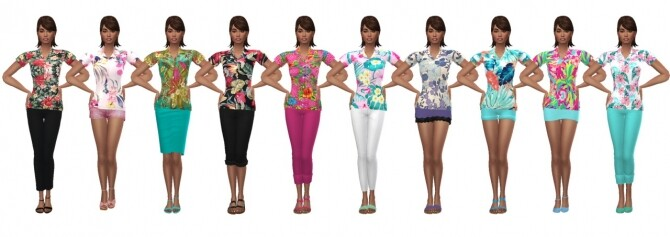 Sims 4 SP10 SUMMER SHIRT at Sims4Sue