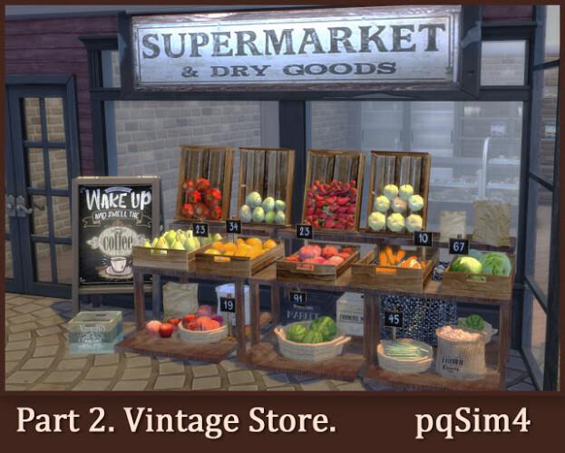 Part 2 Vintage Store