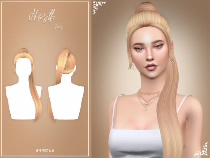 Sims 4 North Hairstyle by Enriques4 at TSR