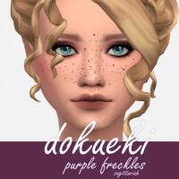 Dokueki Freckles by Sagittariah