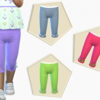 Toddler Skinny Cropped Pants by Pelineldis