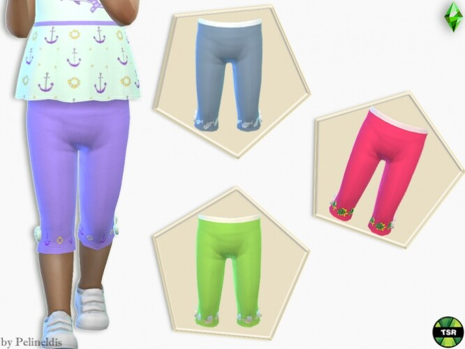 Toddler Skinny Cropped Pants by Pelineldis