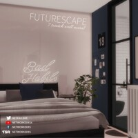 Futurescape Wall Mural by networksims