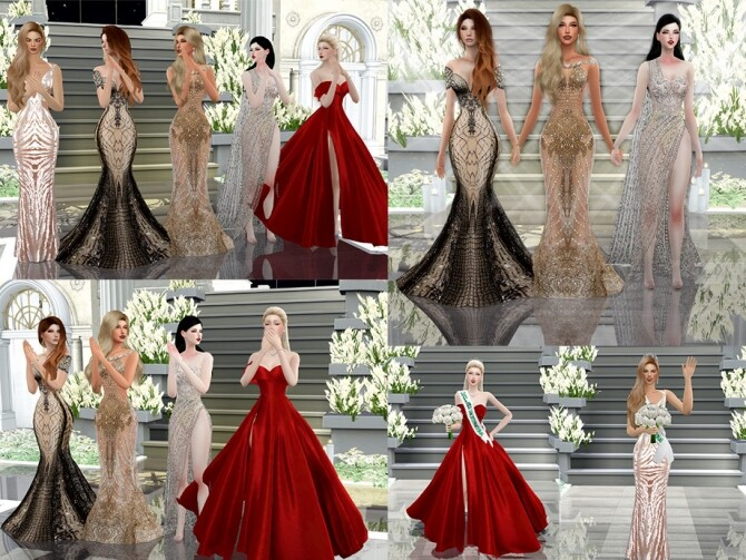 Sims 4 Crowning moment Pose Pack by Beto ae0 at TSR